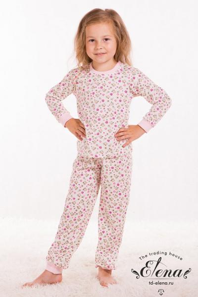 Пижама с брюками (х/б)