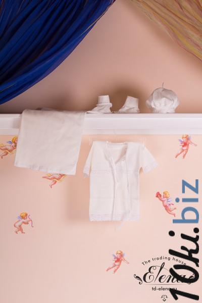 Крестильная одежда для новорожденных - Комплект крестильный
