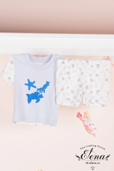 Костюм (футболка+шорты) инт.д/мал.