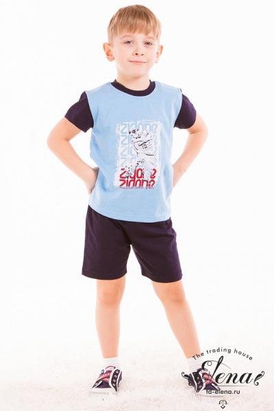 Комплект (футболка+шорты) х/б