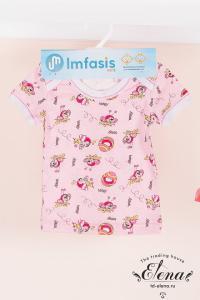 Фото Одежда для детей ясельного возраста, Футболки, майки Футболка (х/б) д/дев.