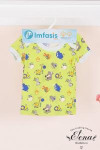 Фото Одежда для детей ясельного возраста, Футболки, майки Футболка (х/б) д/мал.