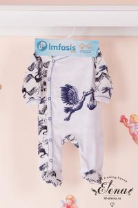Фото Одежда для детей ясельного возраста, Комбинезоны Комбинезон (х/б)