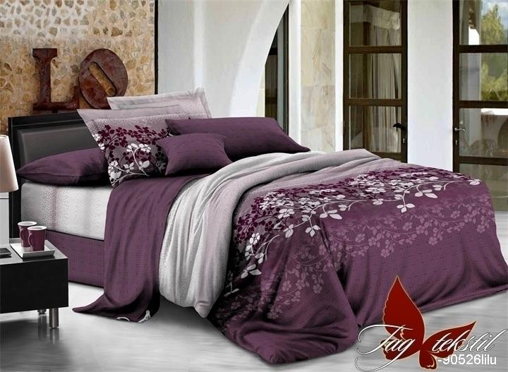 Фото ПОСТЕЛЬНОЕ БЕЛЬЕ, ранфорс Комплект постельного белья R90526lilu