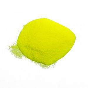 Фото Светящийся порошок (люминофор) ТАТ 33 Люминесцентный пигмент ТАТ 33, желтый днем, желтое свечение
