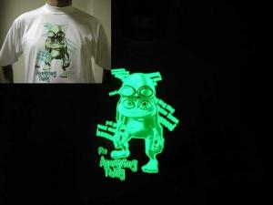 Фото Светящаяся краска Нокстон Светящаяся в темноте краска для ткани Noxton