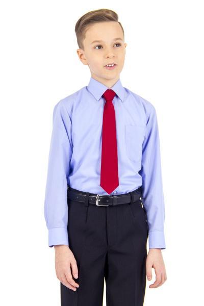 11.06-02.001.006 галстук детс 6см рег узел однотон бордо