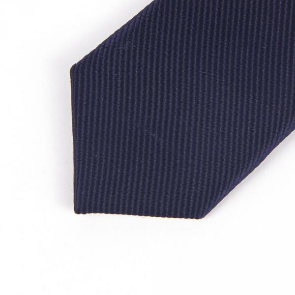 11.06-02.002.001 галстук детс 6см рег узел микрополос т.син