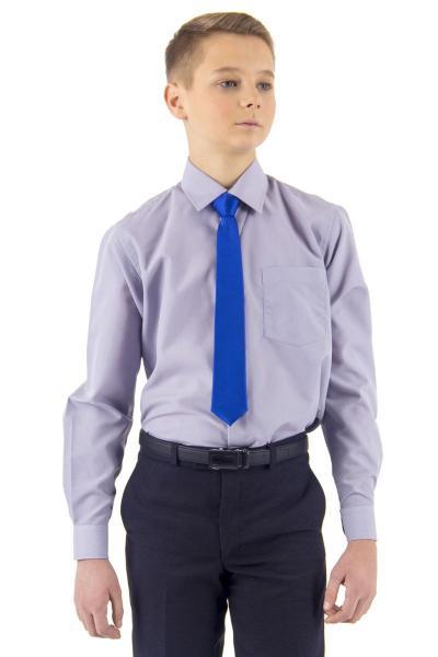 11.06-02.002.006 галстук детс 6см рег узел микрополос сини я