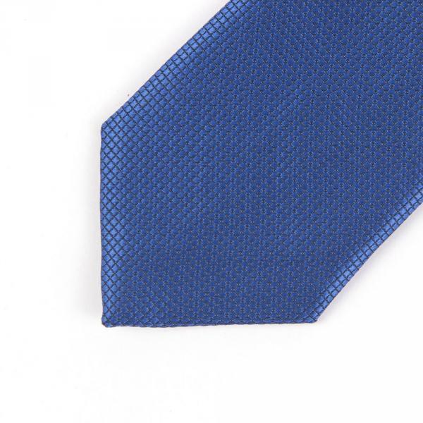11.06-03.005.001 галстук подрост 6см рег узел микрокл синий