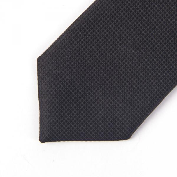 11.06-03.005.002 галстук подрост 6см рег узел микрокл чёрный