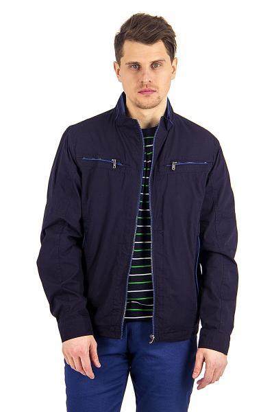 12.01-GMF-G5532-3 куртка дем т.синяя