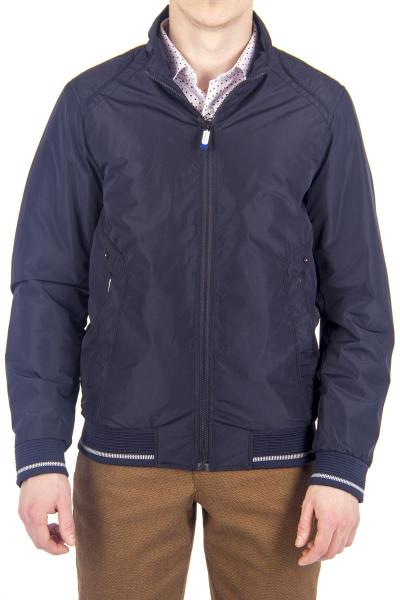 12.01-GMF-G55321-1 куртка дем черно-синяя