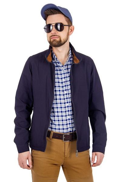 12.03-GMF-G1846-1 куртка лето чёрно-синяя
