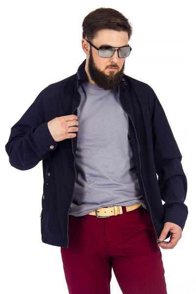 12.03-GMF-G1846-2 куртка лето чёрно-синяя