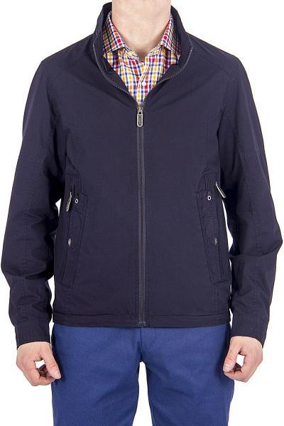 12.03-GMF-G1846-3 куртка лето чёрно-синяя