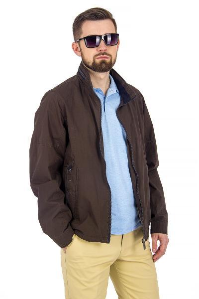 12.03-GMF-G1846-4 куртка лето тёмно-коричневая