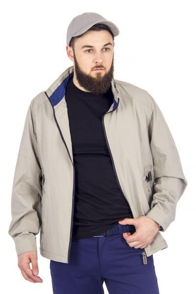 12.03-GMF-G1846-5 куртка лето серый