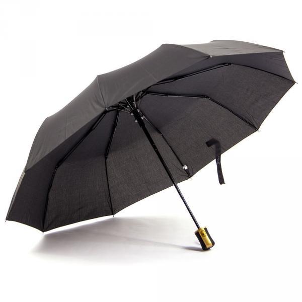 1.01-ELEGANT-N125 зонт ручка прямая черный