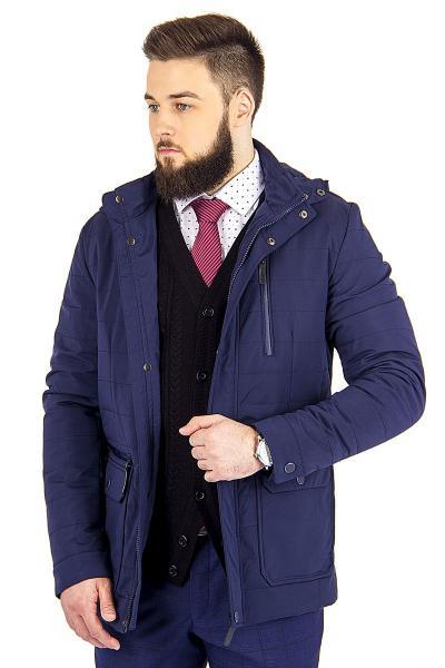 1.01-SAZ-BM2960-958 куртка дем т.синяя