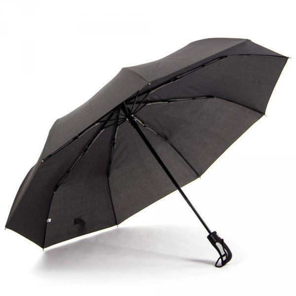 1.02-ELEGANT-N128 зонт ручка прямая черный