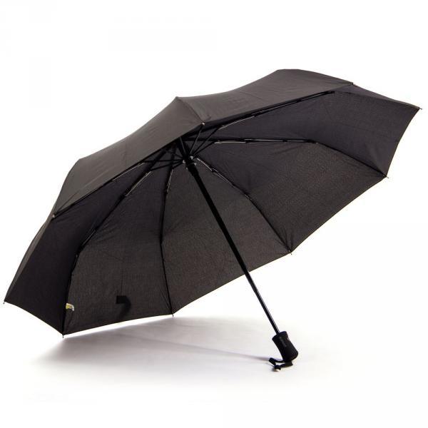 1.02-ELEGANT-N129 зонт ручка прямая черный