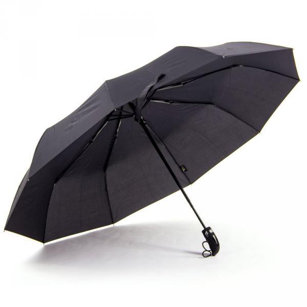 1.02-VISION-1710 зонт ручка прямая черный