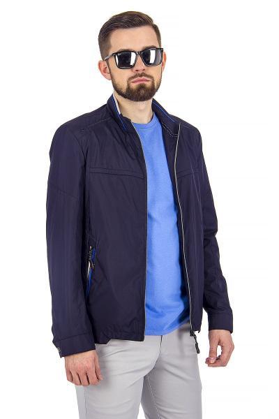1.03-SAZ-D855-30 куртка лето тёмно-синяя