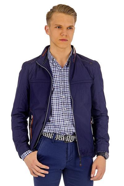 1.03-SAZ-D855-31 куртка лето тёмно-синяя