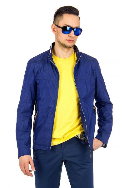 1.03-SAZ-D855-33 куртка лето синяя