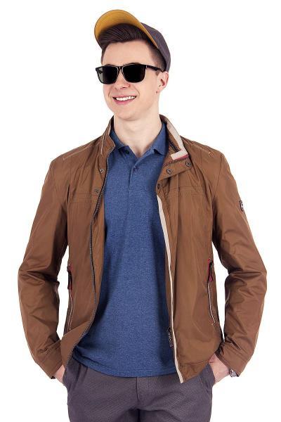 1.03-SAZ-D857-35 куртка лето коричневая