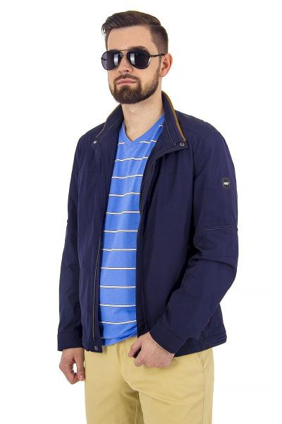 1.03-SAZ-D859-21 куртка лето тёмно-синяя