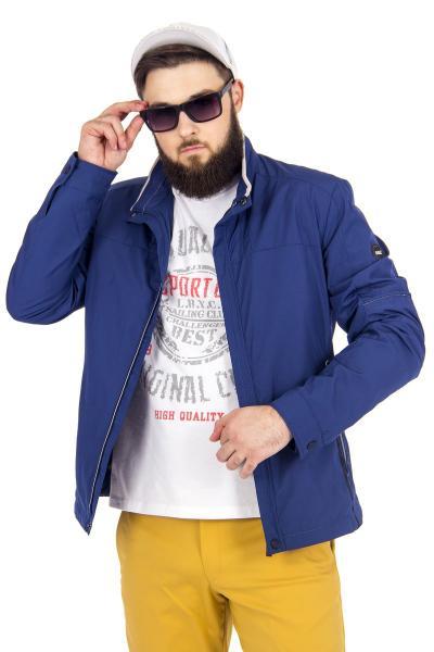 1.03-SAZ-D859-22 куртка лето синяя