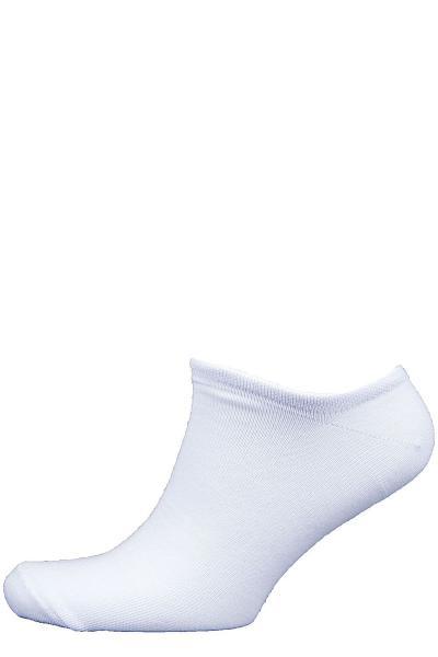 1.1Л-28-01 носки лето белые укороченные