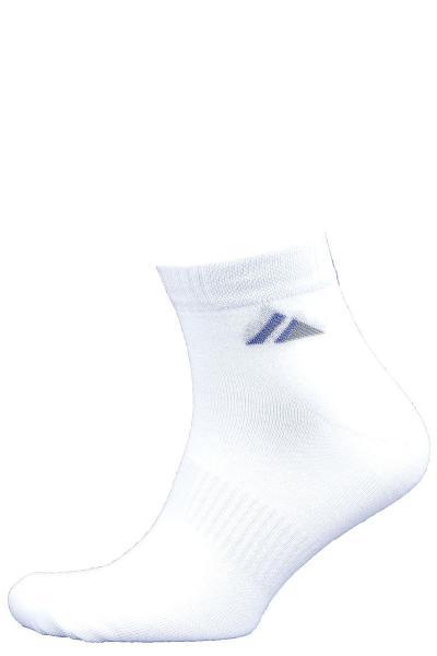 1.1Л-55-01 носки лето белые укороченные с перетяжкой