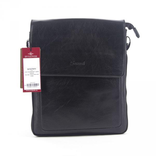 2.05-103288-0001 почтальонская сумка черная