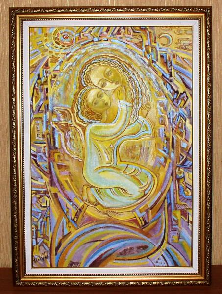 "Картина ""Материнство"" (Атабиева Х.Х.) *7382"