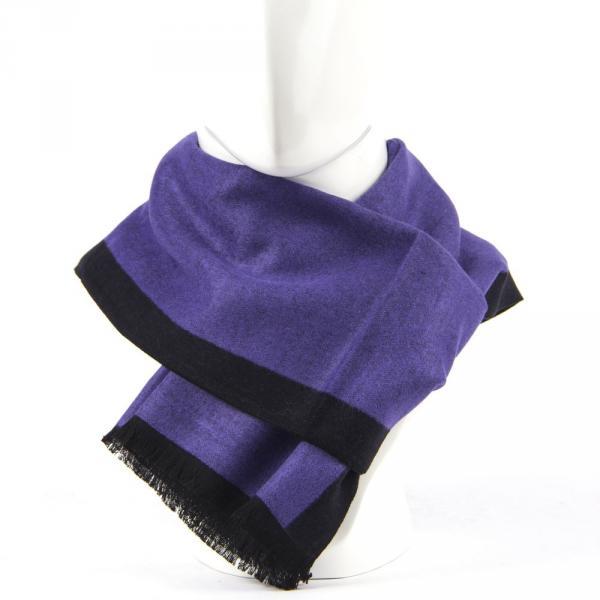 8.02.01.001.056 шарф широкий обычный фиолетовый