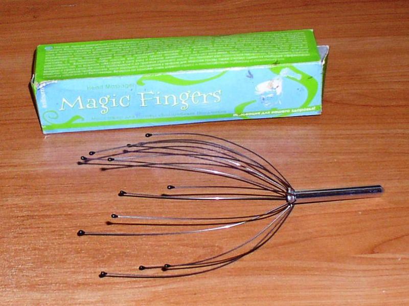 """Массажёр для волос """"Magic Fingers"""" *7391"""