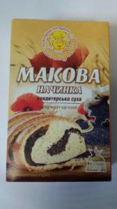 Фото Приправы и специи Маковая начинка сухая смесь 150 г