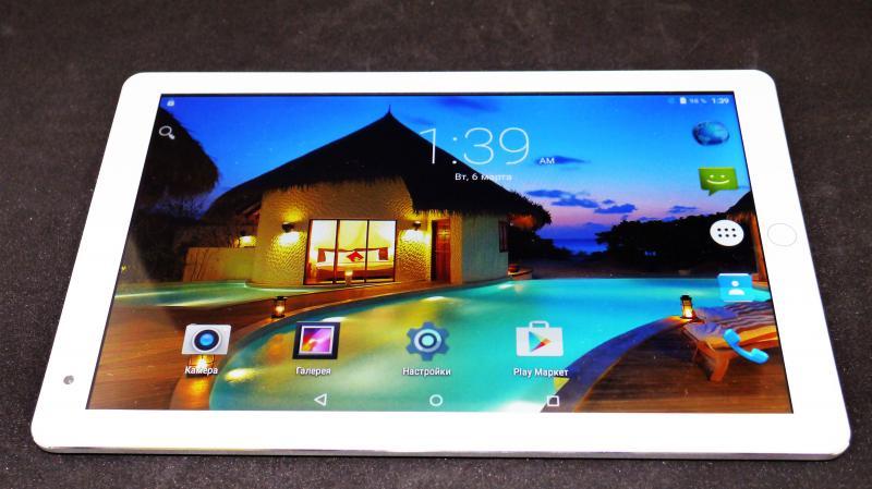 "10,1"" Планшет iPad 10 Ядер 2 Sim 2Гб/16Гб 8Мп Android 6.0 Сенсорная кнопка"