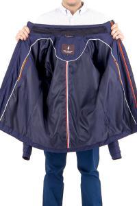Фото Мужская одежда, куртка демис 21.01-ELI-MENS-1701-M6 куртка дем т.синяя