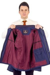 Фото Мужская одежда, куртка демис 21.01-ELI-MENS-623-M6 куртка дем т.синяя