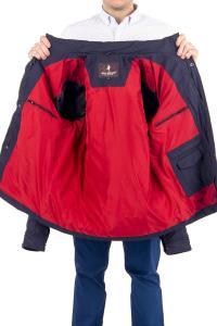 Фото Мужская одежда, куртка демис 21.01-ELI-MENS-882-M5 куртка дем черно-синяя