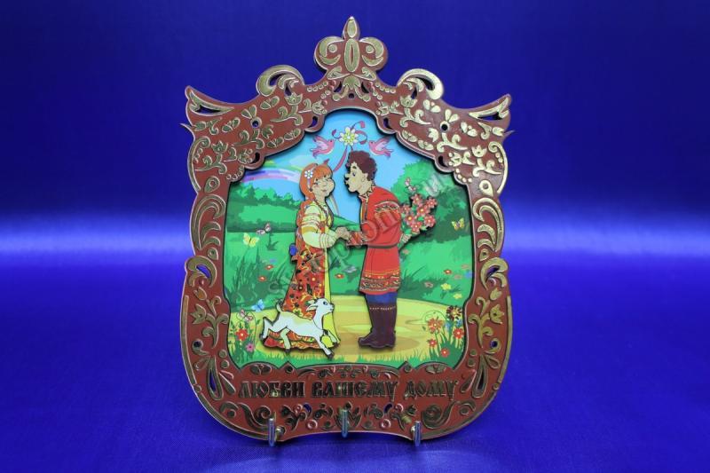 Ключница из дерева в ассортименте,арт.073-005