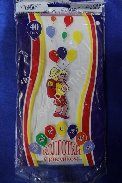 Колготы детские с рисунком 40 Den  арт. 030-003