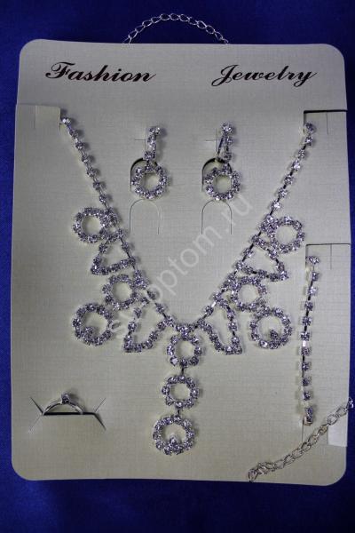 Колье и серьги арт. 034-152