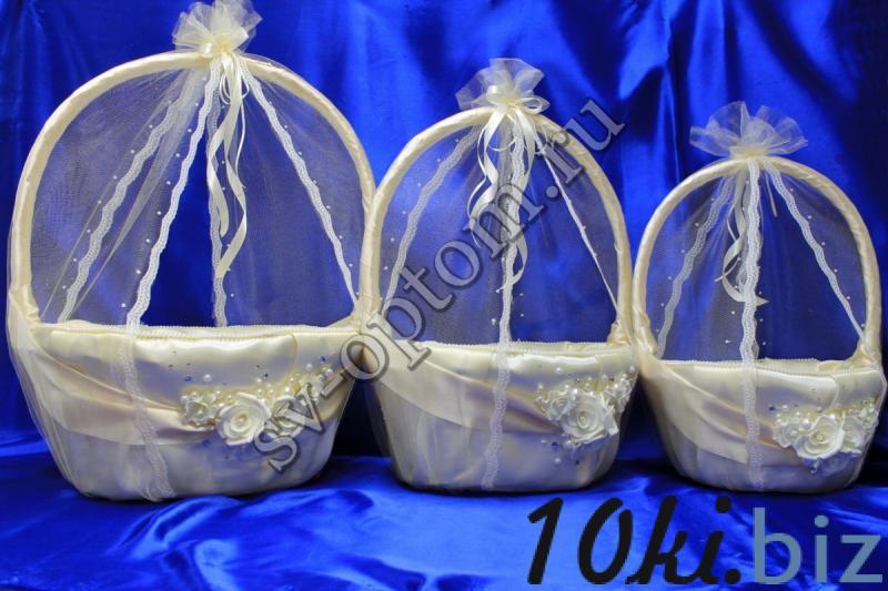 Комплект корзин арт. 086-033 Свадебные корзинки и сита в России