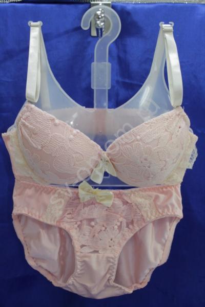 Комплект нижнего белья розовый(Р-ры:70С-М,75С-M,80С-М) арт. 018-020