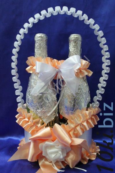 Корзинка персиковая арт. 048-125 Свадебные корзинки и сита в России